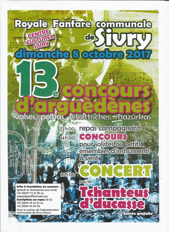 Concours arguedenne Sivry